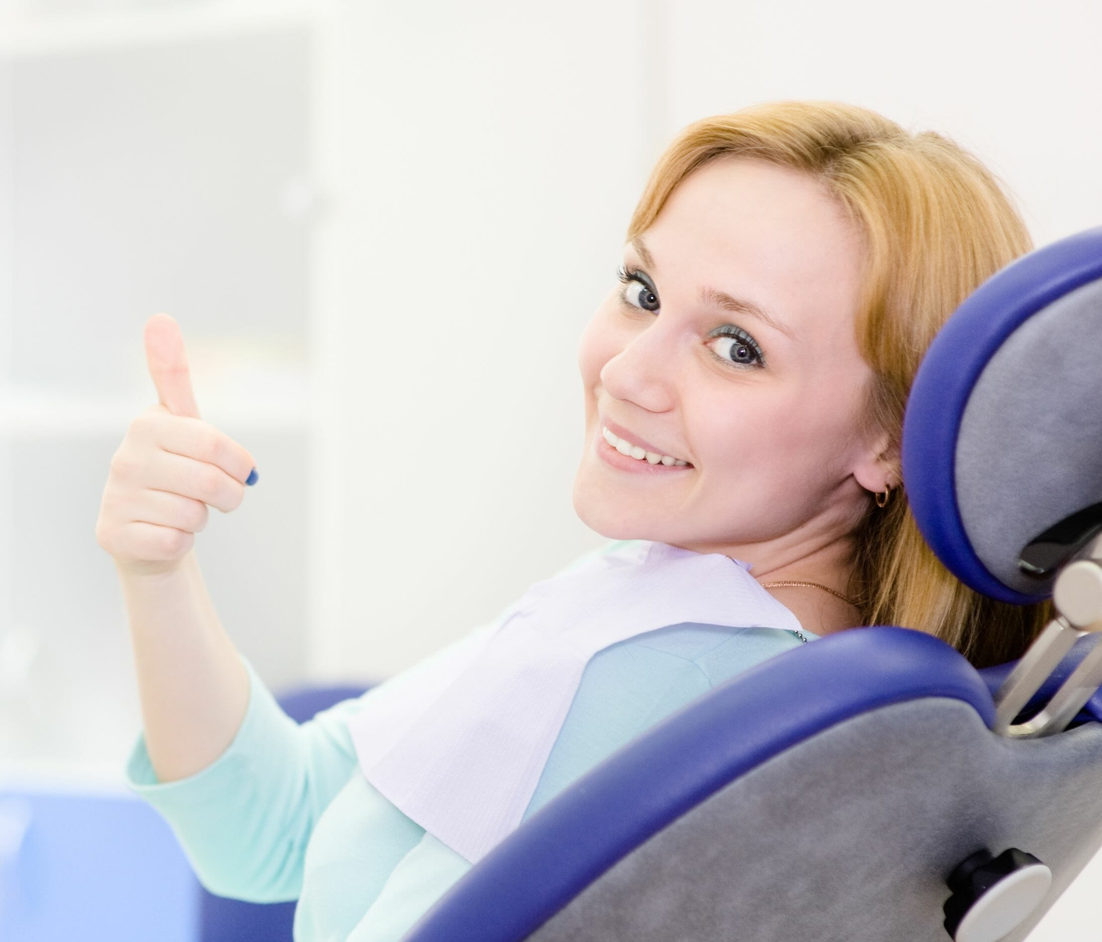 20931060 - young girl in the dental clinic